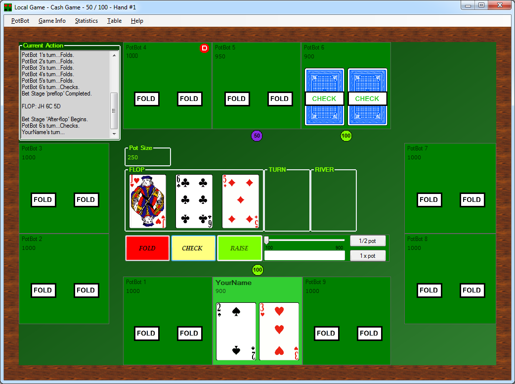 PotBot Poker Suite Screen shot